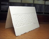 Reserved for kathleenforbrich - Package of 3 Celtic Knots with Recycled Envelopes - Large
