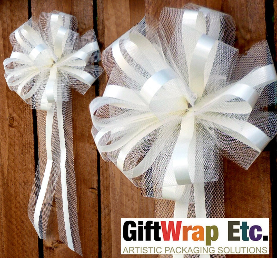 Unavailable listing on etsy - Bow decorations for weddings ...