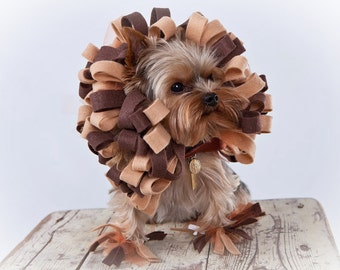 Lion Dog Costume - Pet Halloween Costume - Ready to Ship Size XS