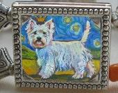 West Highland Terrier Bracelet Westie Bracelet by Gena Semenov - FREE SHIPPING