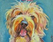 Irish Terrier Print by Gena Semenov - FREE Shipping USA