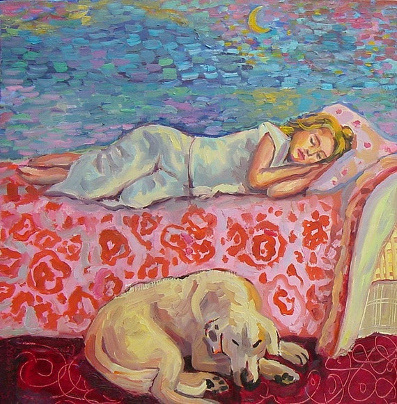 Guardian of her Dreams Print - Free Shipping USA