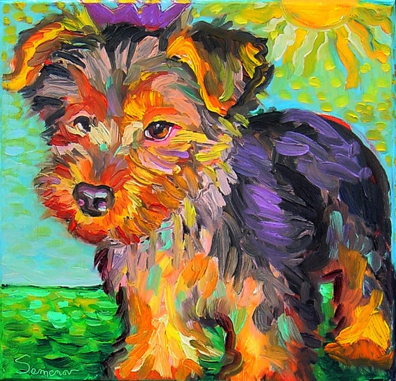 Yorkie (Yorkshire Terrier) on a Trip - Free Shipping USA