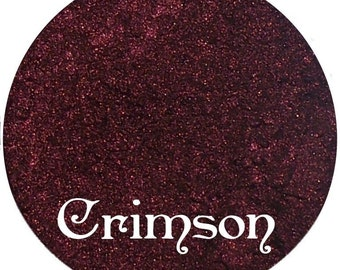 CRIMSON Metallic Red Eyeshadow