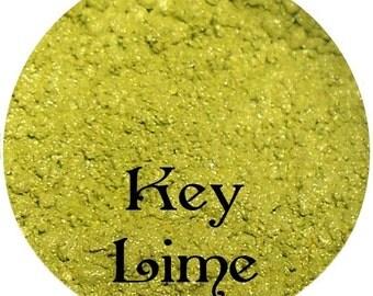 Lime Green Eyeshadow  KEY LIME