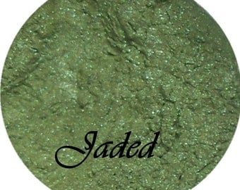 JADED Green Mineral Eyeshadow Pigment