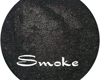 SMOKE Black Eyeshadow Pigment Mineral makeup