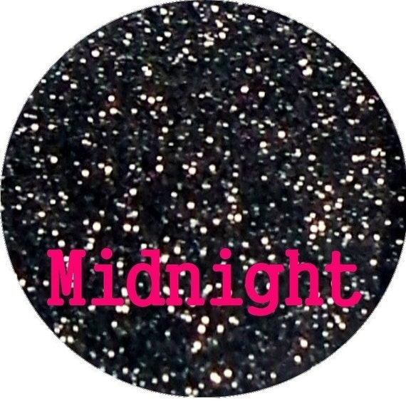 MIDNIGHT Black Cosmetic Glitter