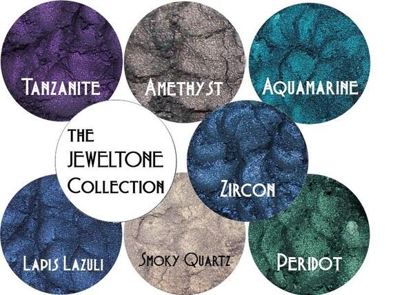 JEWEL TONE Eyeshadow Collection 7 Color Stack