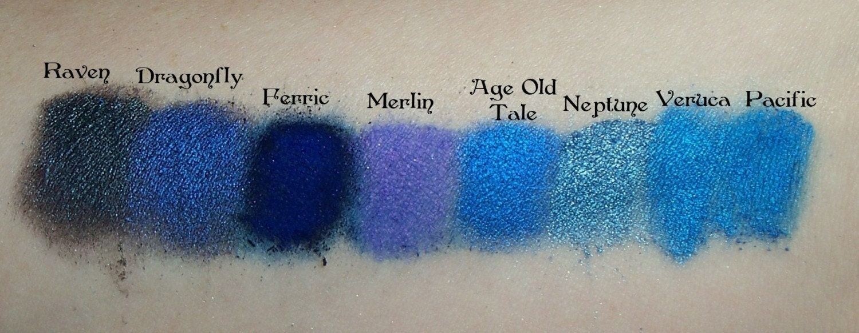 FERRIC Dark Blue Matte Eyeshadow Mineral by SpectrumCosmetic