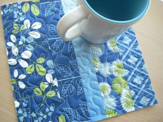 simply color in blue snack mat - FREE SHIPPING
