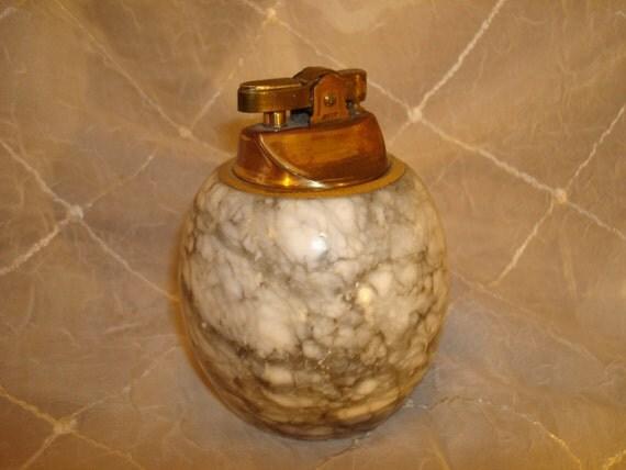 Vintage Granite Stone Coffee Table Lighter Sale