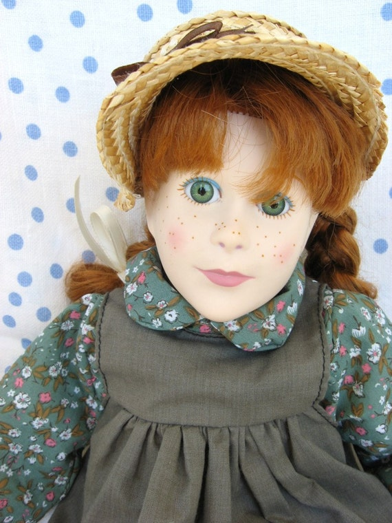 Anne of Green Gables Doll Y Richardson Irwin 1989
