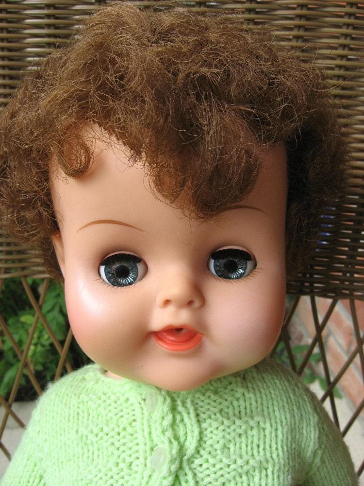 Dee An Cee Canada Doll Drink N Wet Baby 1960