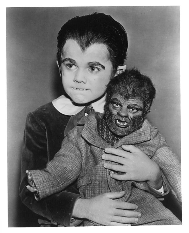 Munsters Eddie Munster Woof Woof Wolfie Doll In Suit New