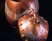 GOURD ART - Copper Dance