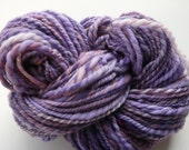 Handspun Merino Yarn More Purple  bulky weight
