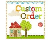 Custom Order for lionfan