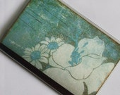BLUE BOHEMIA PASSPORT COVER