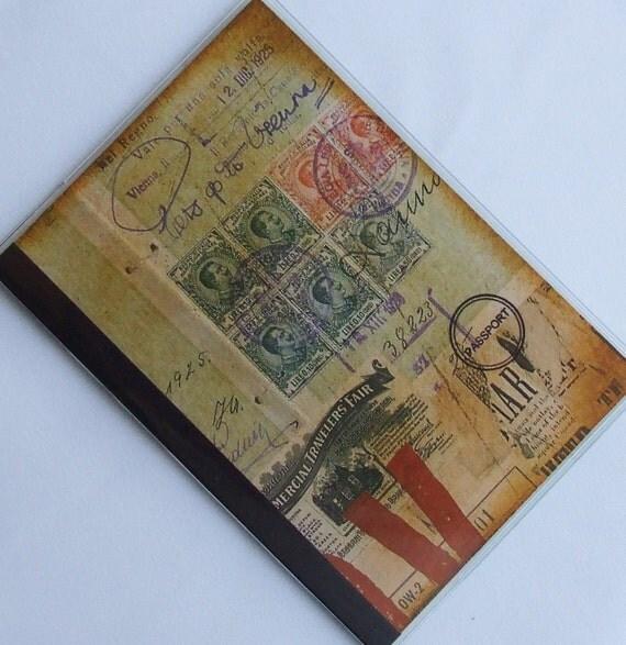 PASSPORT COVER The Traveler