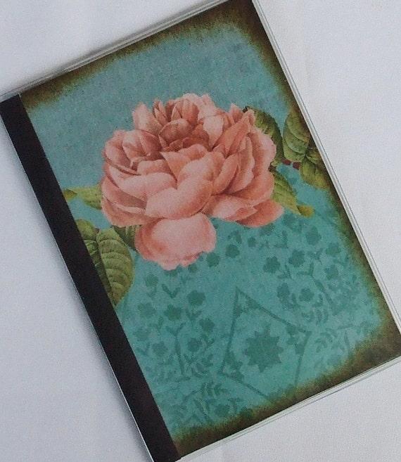 PASSPORT COVER Vintage Rose