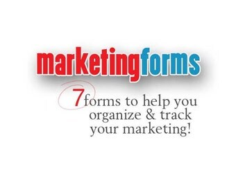Marketing Forms Workbook Organize Your Marketing