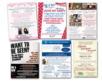 Flyer Design..Advertising / Marketing / 8.5 x 11 or any size you want