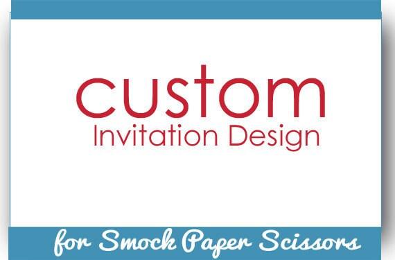 Custom Order Smock Paper Scissors