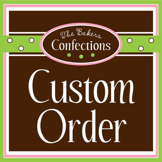 CUSTOM order for Jennifer - custom sprinkle mix
