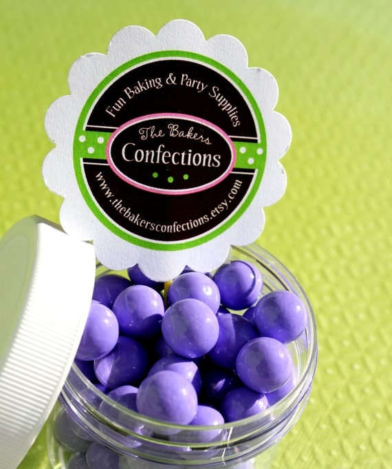 Purple Sixlets Cupcake Toppings - Candy Coated Chocolate (14 oz BAG) SALE