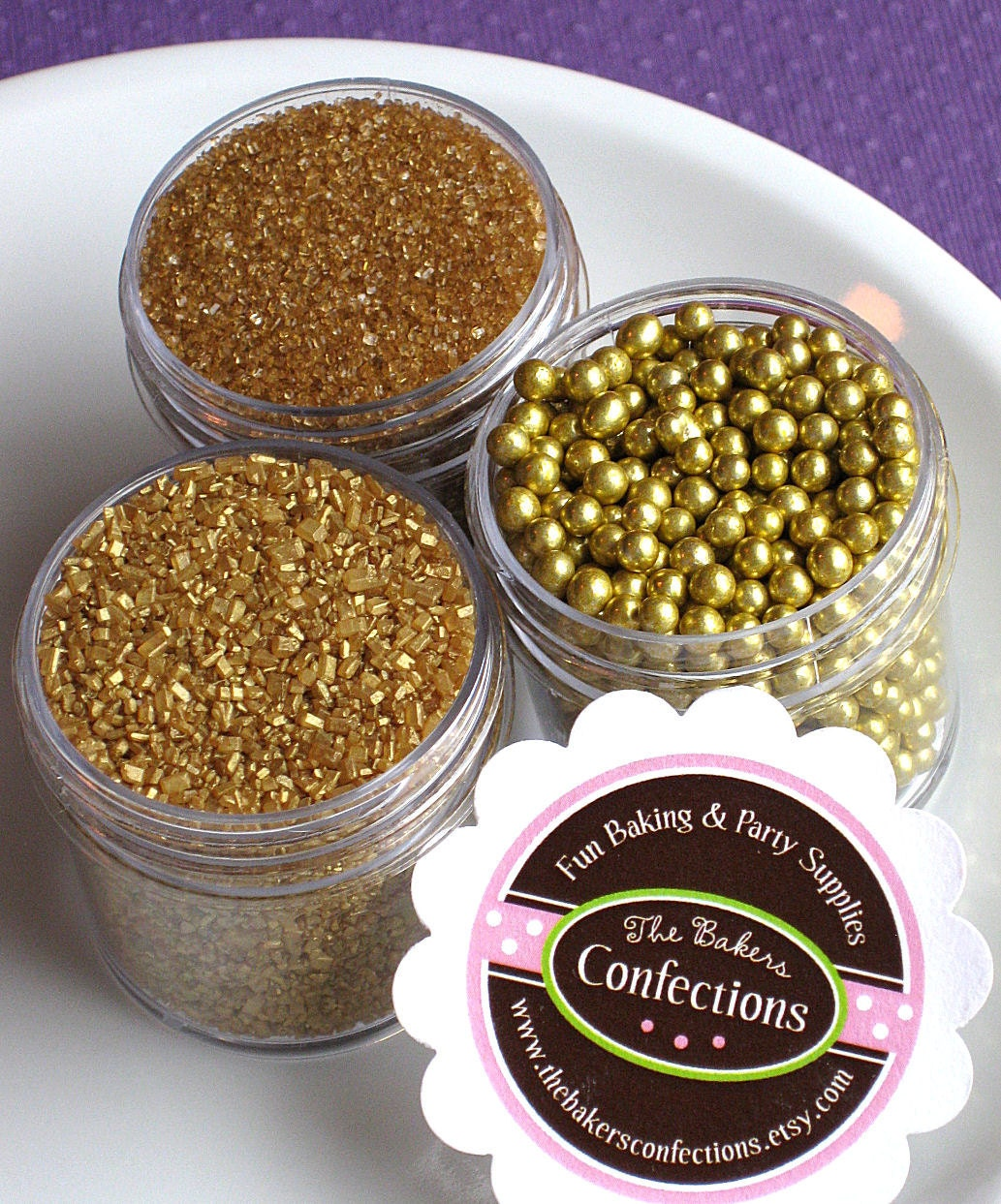 Gold Jimmies Sprinkles - a-k-b info