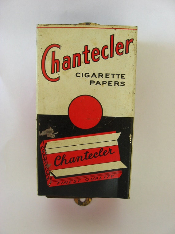 Rare Vintage Chantecler Cigarette Rolling Paper Store Dispenser