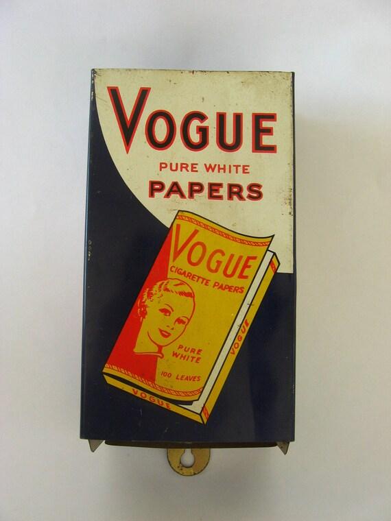 Vintage Vogue cigarrillos dispensador de papel tienda por VinTroAde