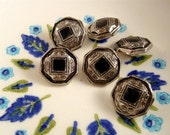 Grecian VINTAGE BUTTON DESTASH - half dozen