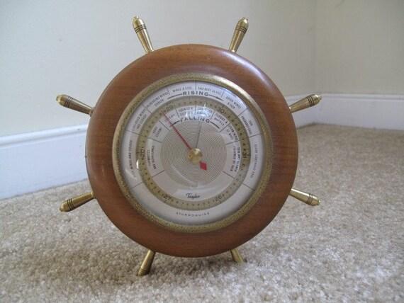 Antique Taylor Barometer Barometer Stormoguide By