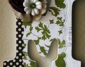 Custom Wooden Wall Letter- Wedding, Nursery, Home Decor