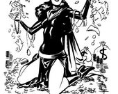 Catwoman - Original Art Sketch