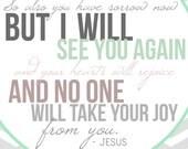 John 16:22 8x10 print