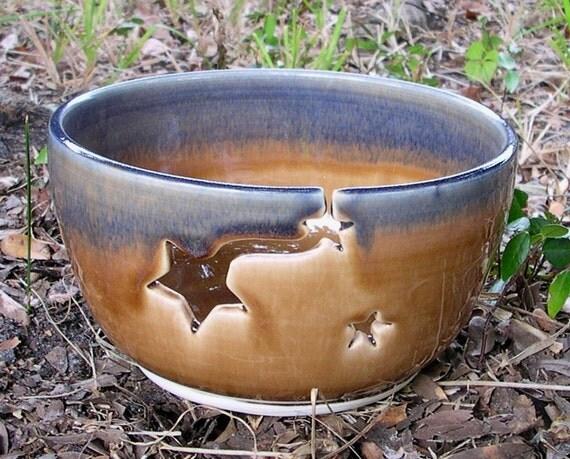Gold Star Yarn Bowl