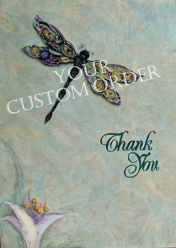Custom Order Any Card For Any Occasion