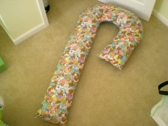 Pregnancy 5 Foot Candy Cane Shaped Body Pillow