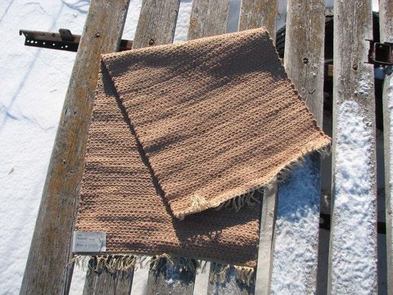 wool rug, 22x54