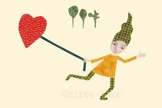 love by land - fine art print