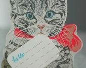 Hello Kitten Card