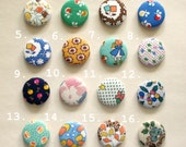 Fabric Badges - 3 of your choice