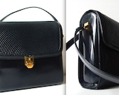 vintage GIAMPIERO for ATHOS firenze patent leather purse