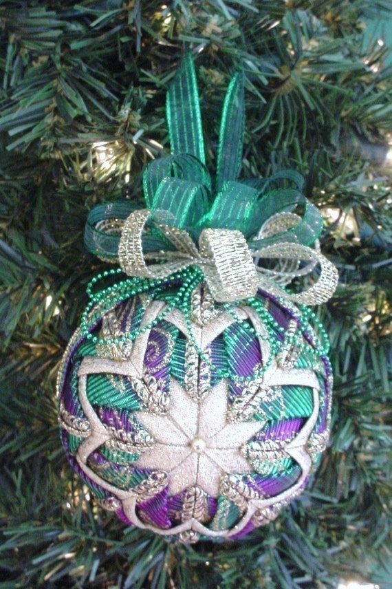 Quilted Christmas Ornament Pattern Pdf Tutorial Hc By