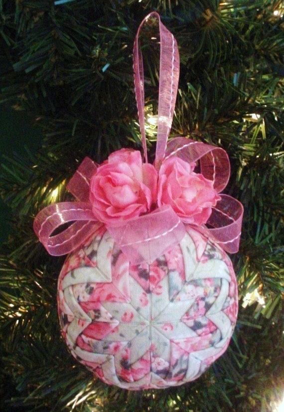 Quilted christmas ornament tutorial pattern pdf holidays