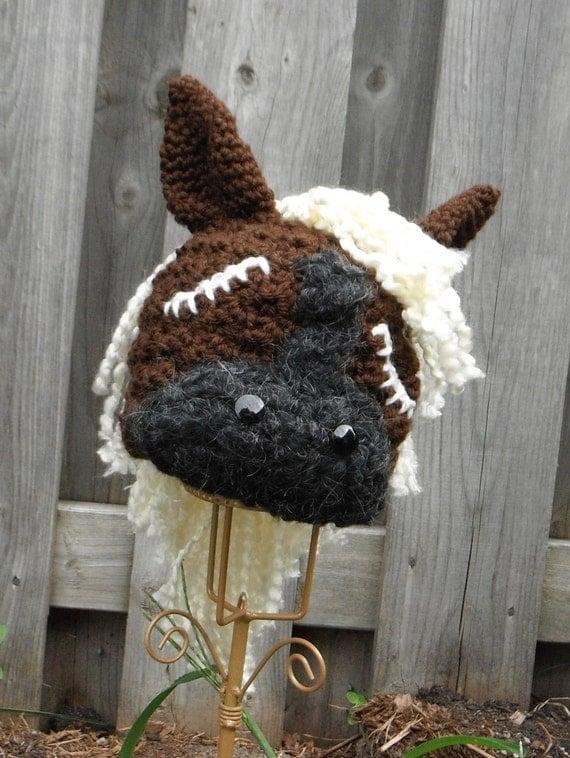 Crochet Pony Hat Pattern Crochet Hat Pattern my Little