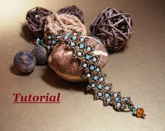 Tutorial for Silk Road Bracelet